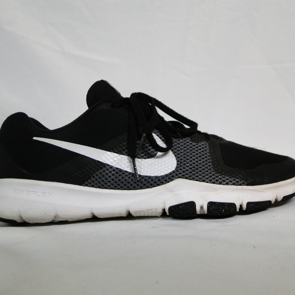 Zapatos Nike Flex Control NegroBlancodark Hombres Sz 12 Poshmark NegroBlancodark Control Gris c018ab